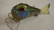 "TATER HOG Hoochie Baby Jointed ""SC BLUEGILL"""